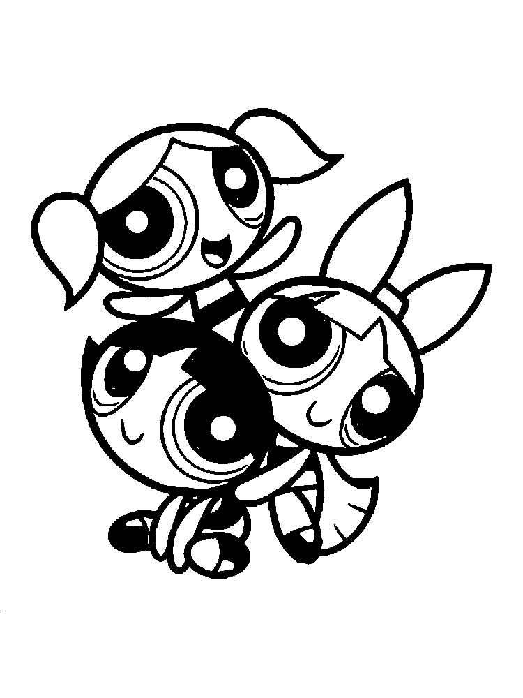 Powerpuff Buttercup coloring pages