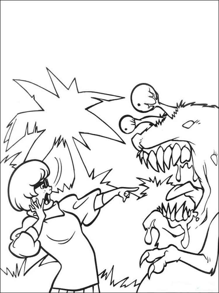 Scooby Doo Coloring Pages Download And Print Scooby Doo