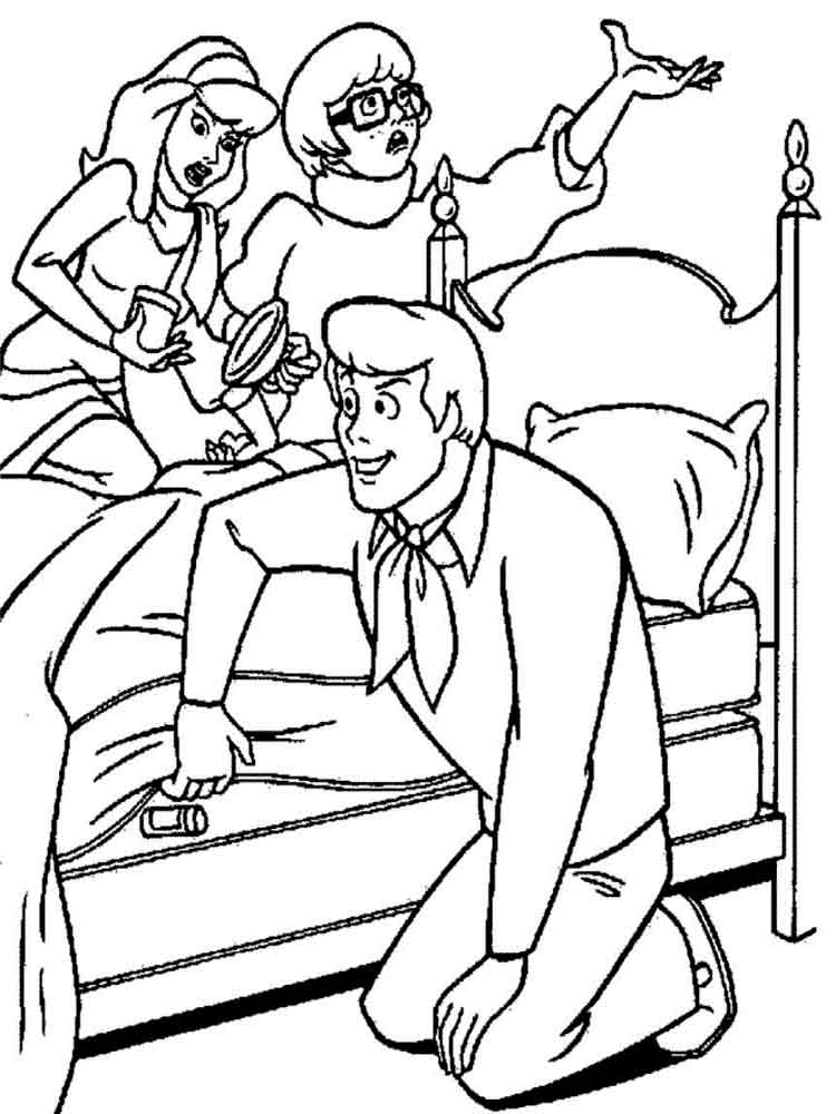Scooby Doo Coloring Pages Download And Print Scooby Doo Coloring Pages