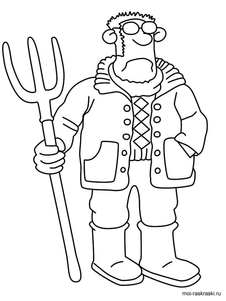 Shaun the Sheep coloring pages