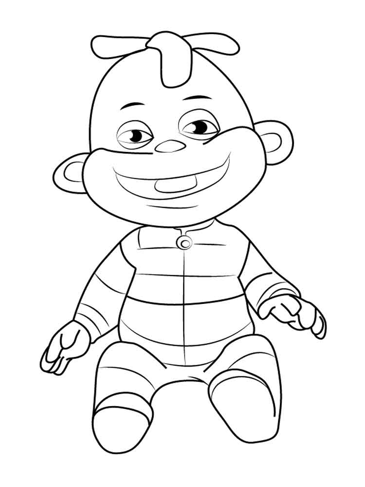 Sid The Science Kid Coloring Pages 1