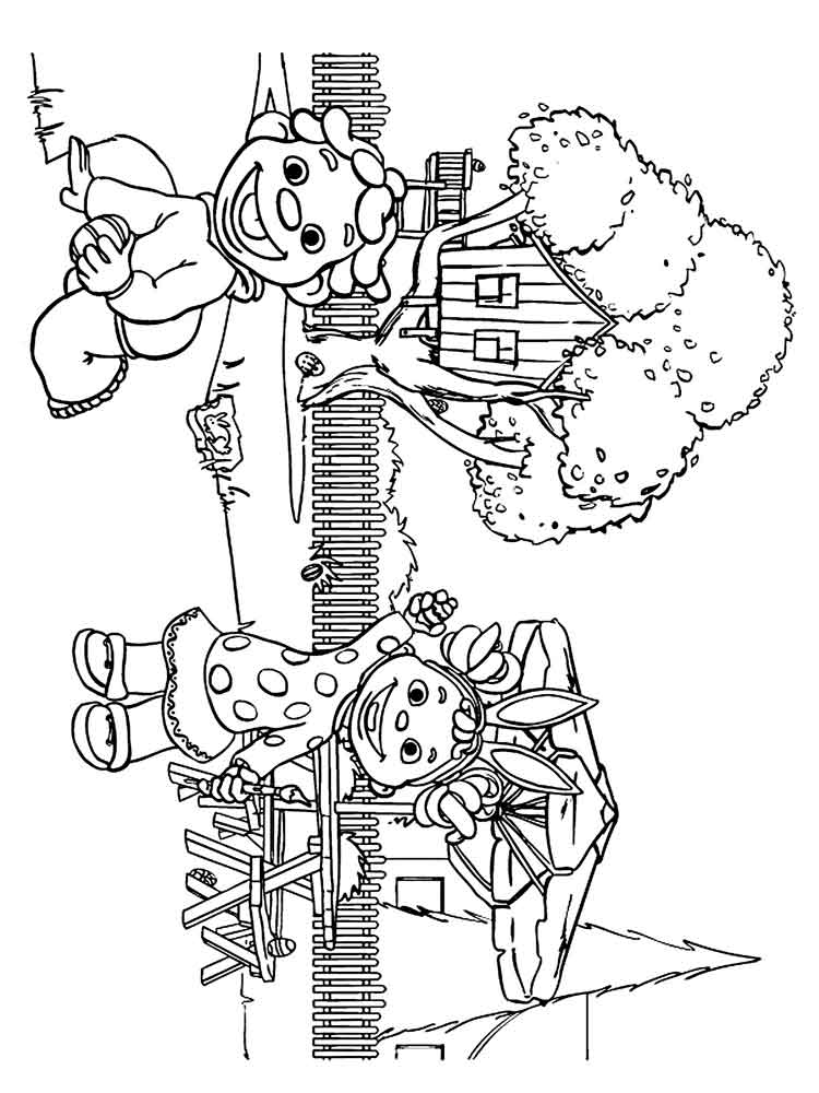 Sid The Science Kid Coloring Pages. Free Printable Sid The