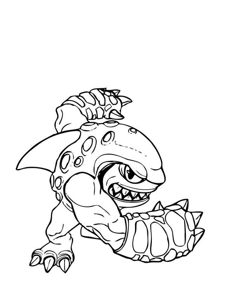 cartoon giant coloring pages - photo#10