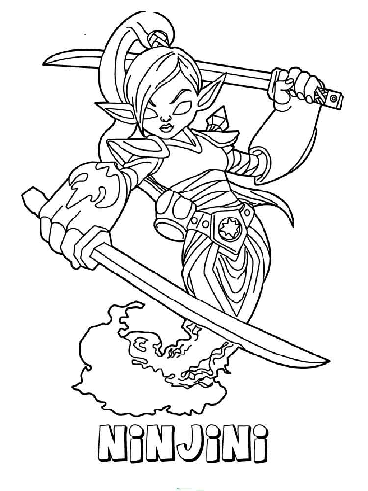 cartoon giant coloring pages | Skylanders GIANTS coloring pages. Free Printable ...