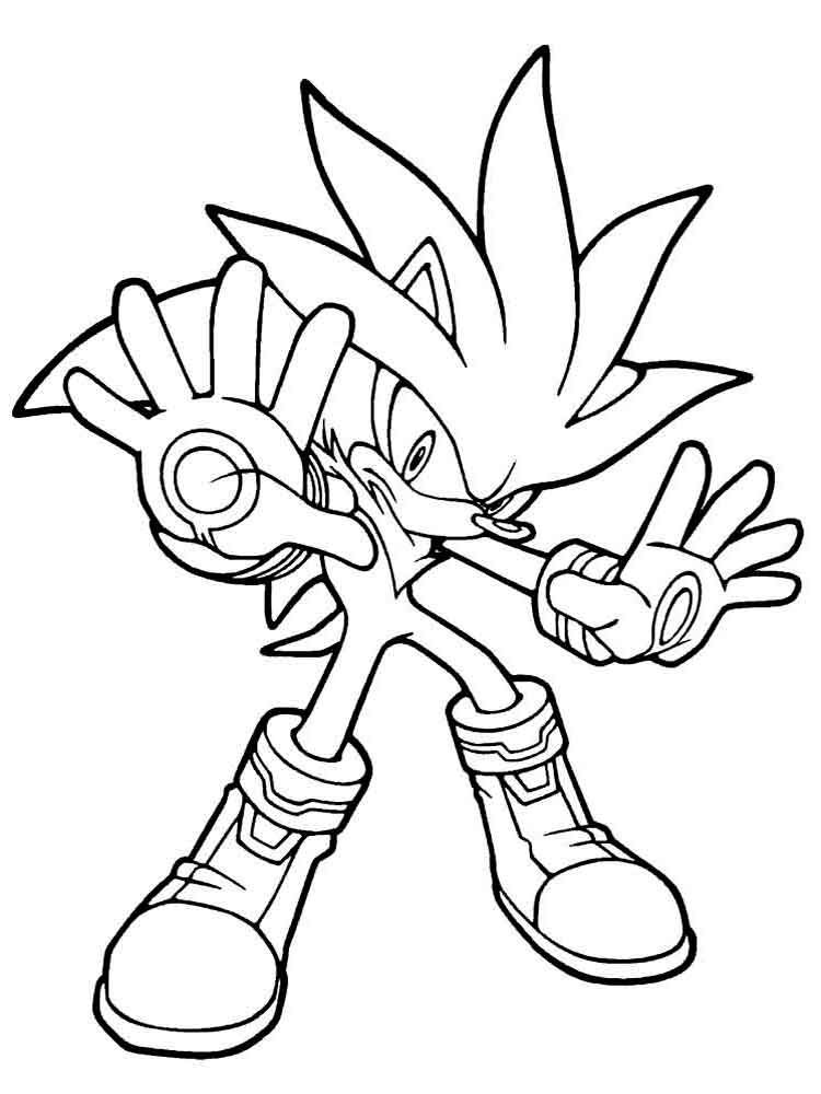sonic coloring pages 12 - Sonic The Hedgehog Coloring Pages