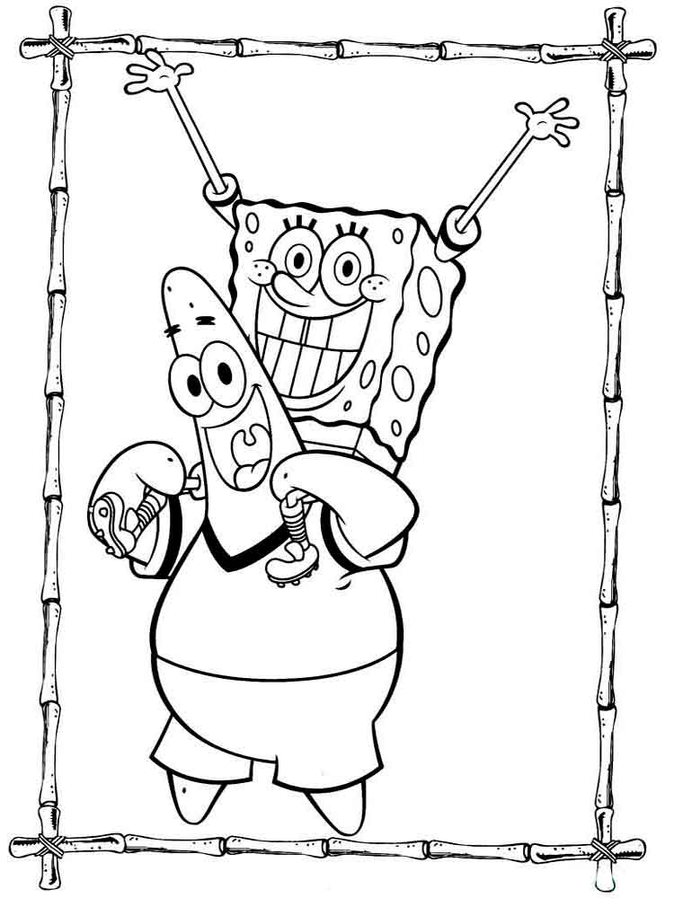 SpongeBob Coloring Pages Download And Print SpongeBob