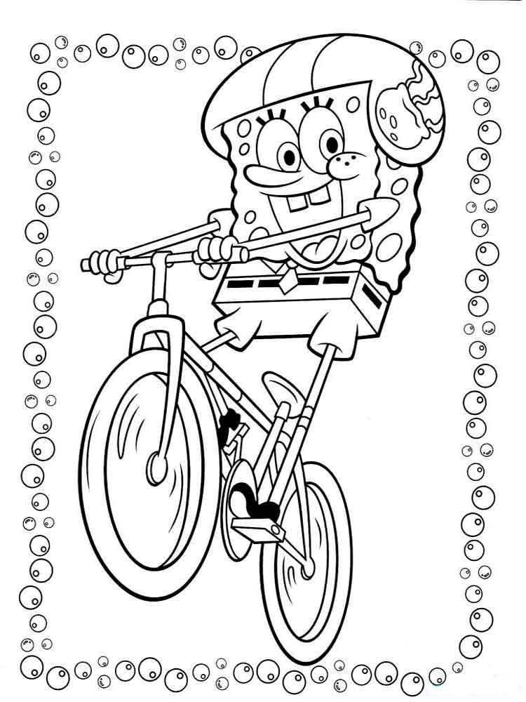 SpongeBob coloring pages Download