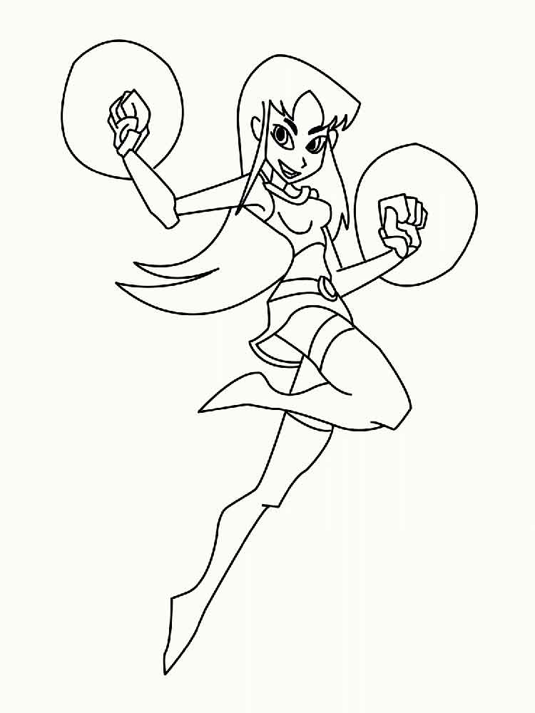Teen Titans Go Coloring Pages Free Printable Teen Titans