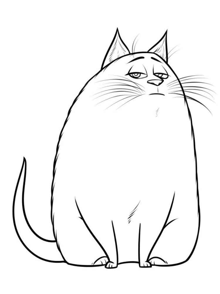 The Secret Life of Pets coloring pages. Free Printable The ...