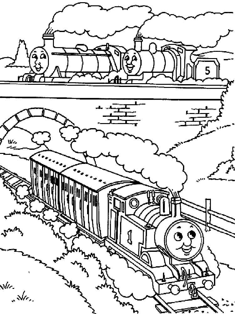 Thomas Friends coloring pages Free Printable Thomas