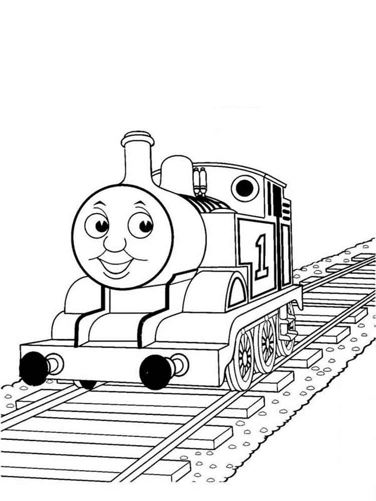 Thomas & Friends coloring pages. Free Printable Thomas ...