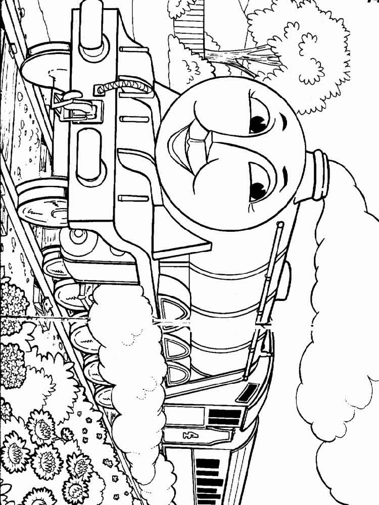 Thomas amp Friends coloring pages