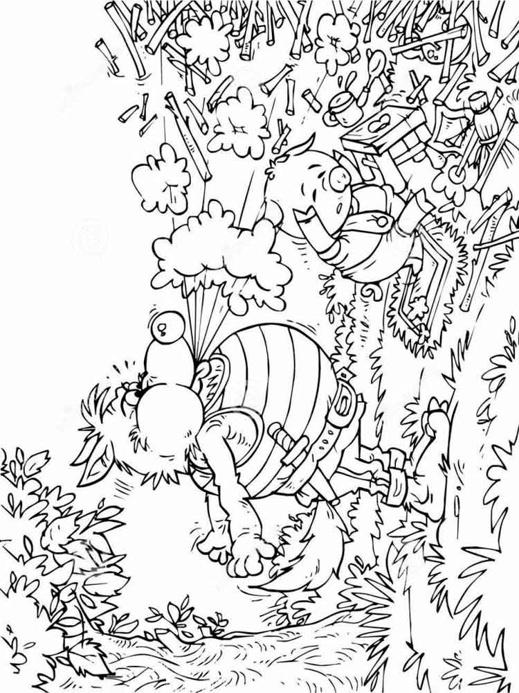 Three little Pigs coloring pages. Free Printable Three ...