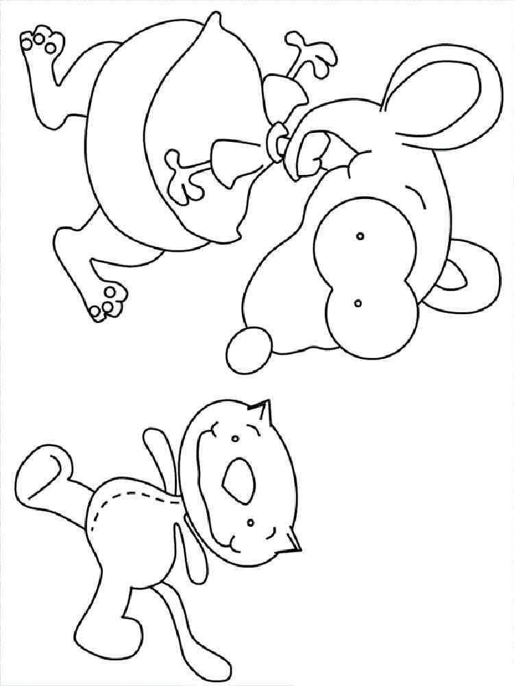 binou coloring pages - photo#12