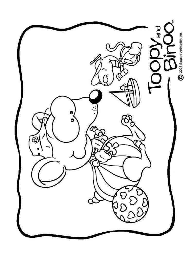 binou coloring pages - photo#14