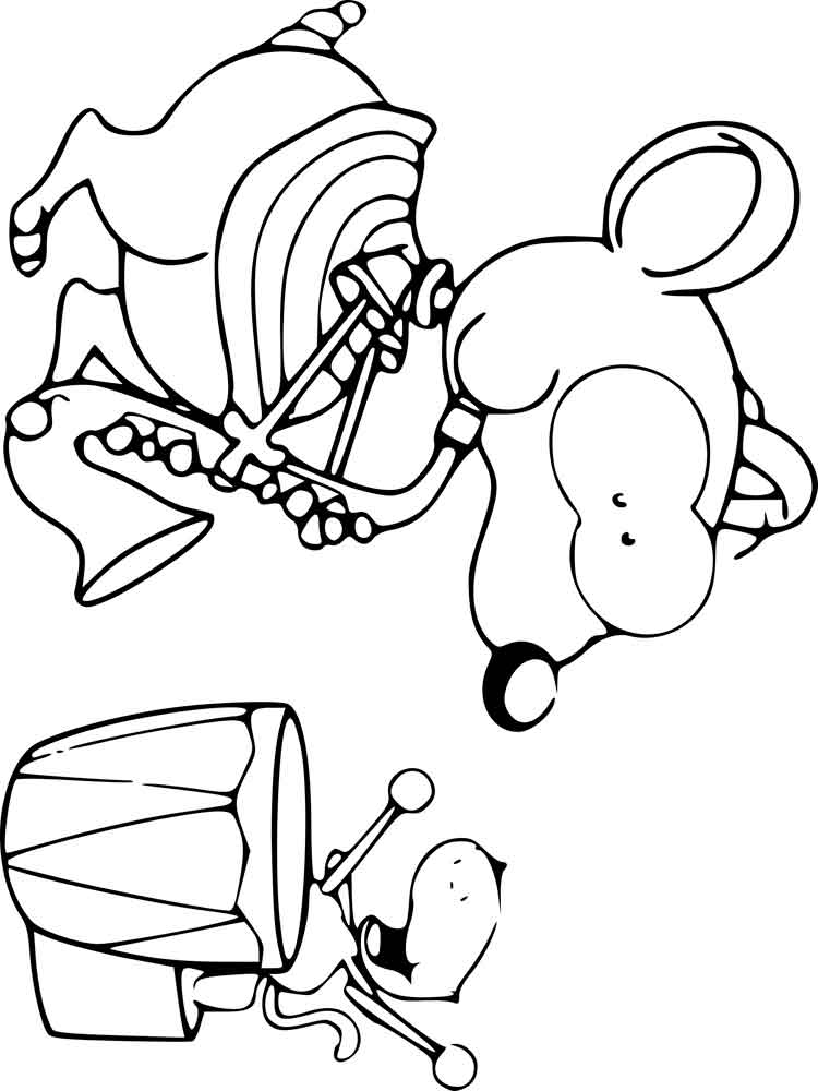 Toopy And Binoo Coloring Pages Free Printable Toopy And Binoo Coloring Pages