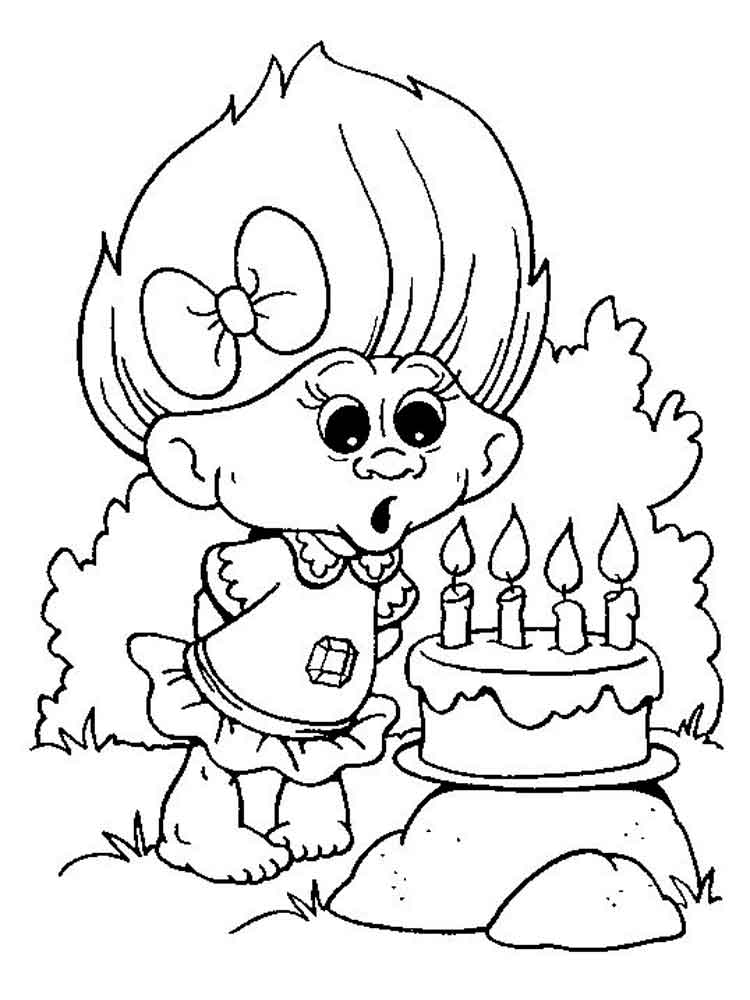 Trolls coloring pages. Free Printable Trolls coloring pages.