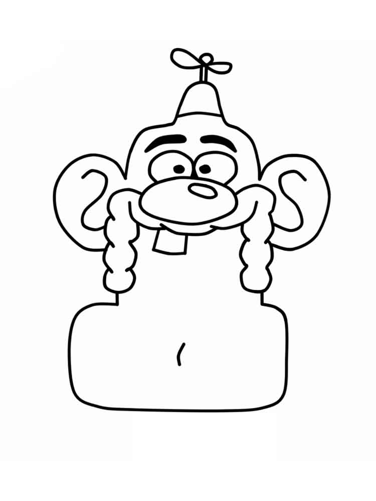 cartoon network uncle grandpa coloring pages | Uncle Grandpa Cartoon Coloring Coloring Pages
