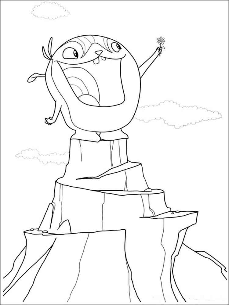 Wallykazam coloring pages Free