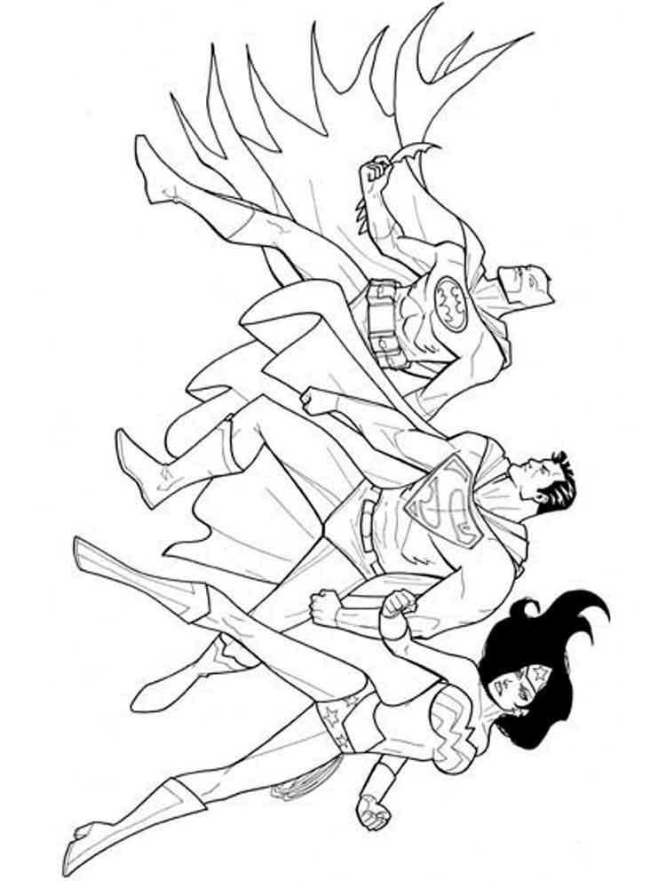 Wonder Woman Coloring Pages Free Printable Wonder Woman