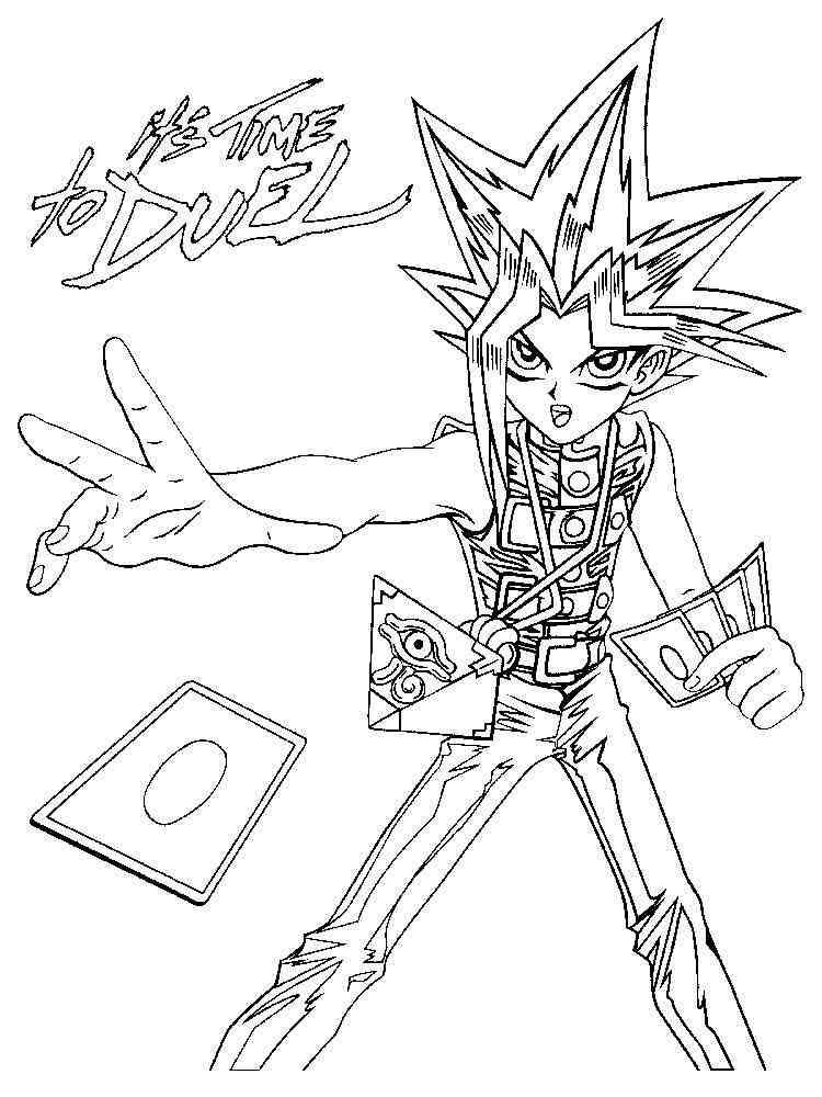 YU GI OH coloring pages. Free Printable YU GI OH coloring ...