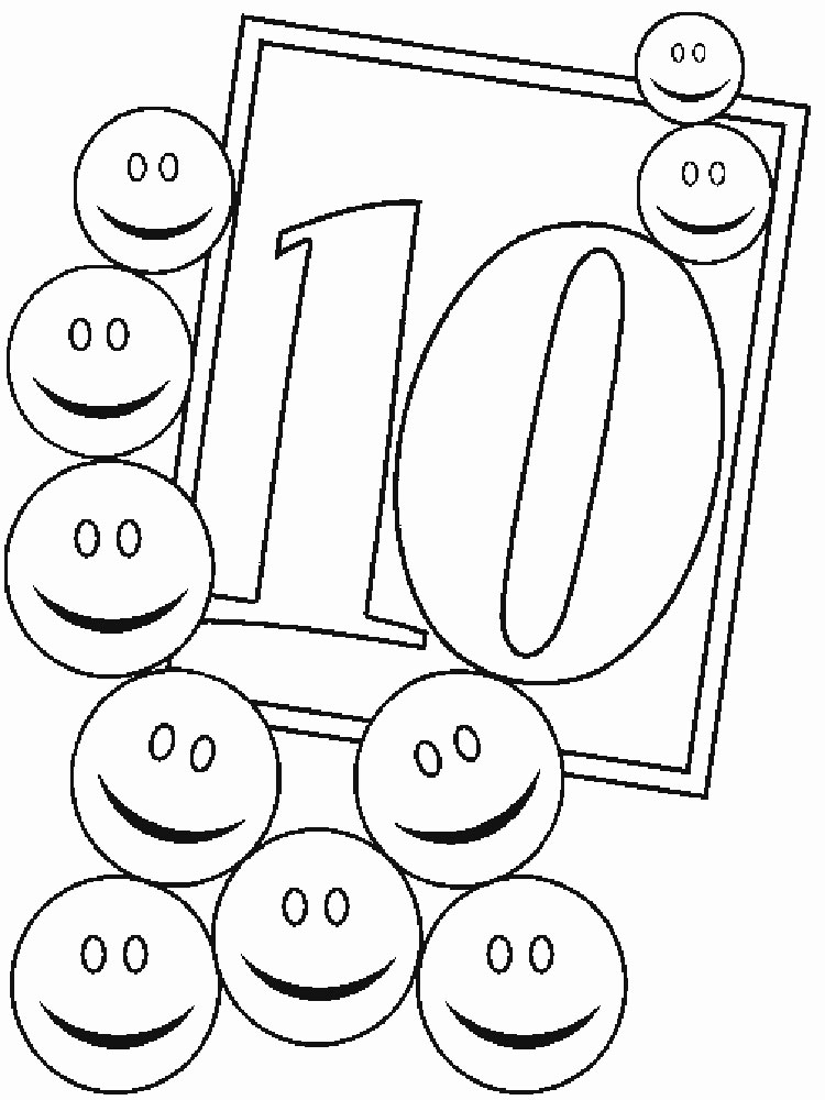 123 Numbers coloring pages Download and print 123 Numbers