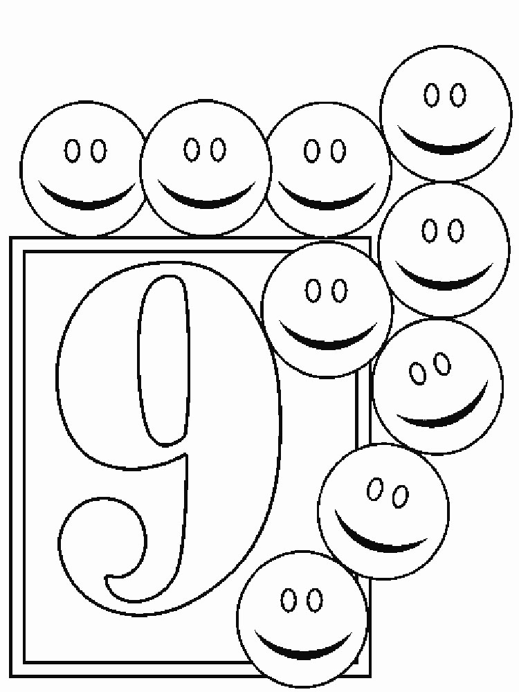 coloring pages according to numbers - 123 numbers coloring pages download and print 123 numbers coloring pages