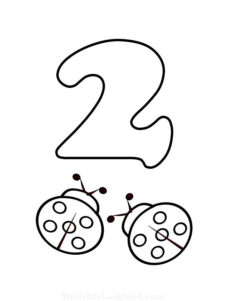 123 Numbers coloring pages. Download and print 123 Numbers ...