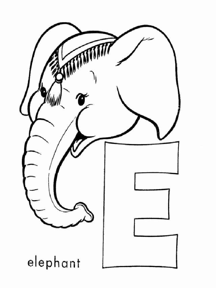 the letter e - 670×820