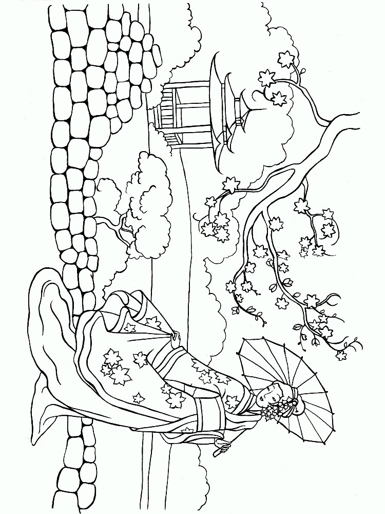 China coloring pages. Download and print China coloring pages