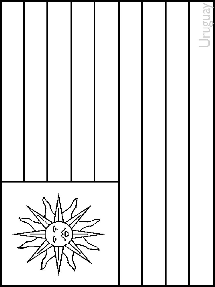 Flags of countries coloring pages Download and print Flags of