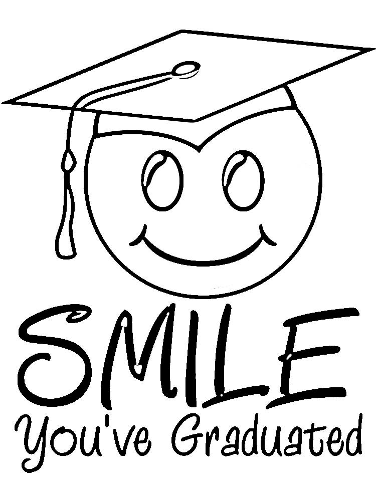 Graduation Coloring Pages  Coloring Pages