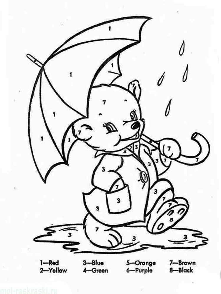Learning Colors coloring pages