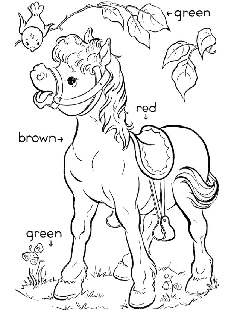 educational coloring pages | Learning Colors coloring pages. Download and print ...