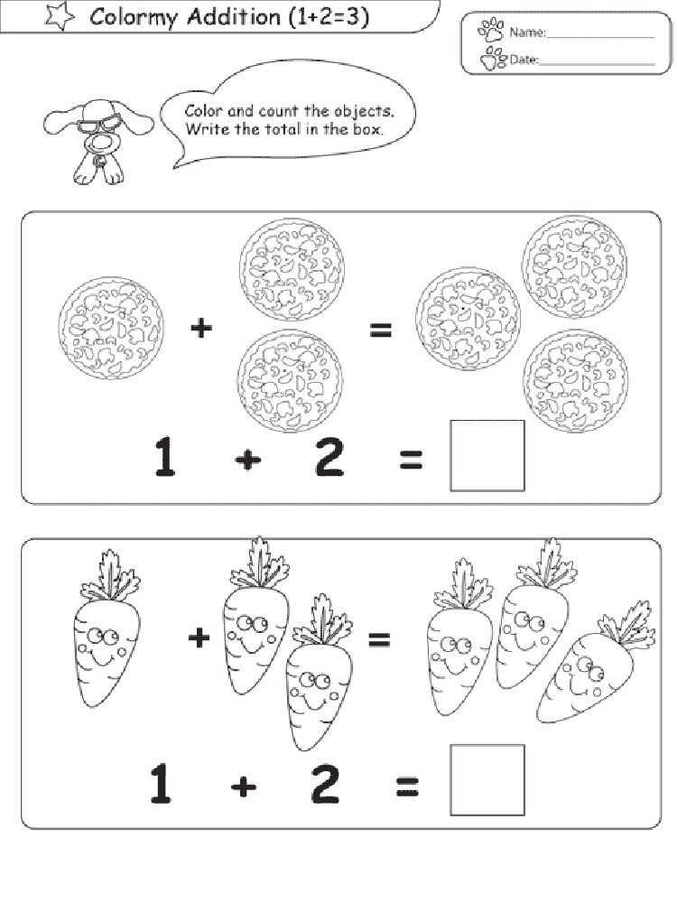 math coloring pages 2