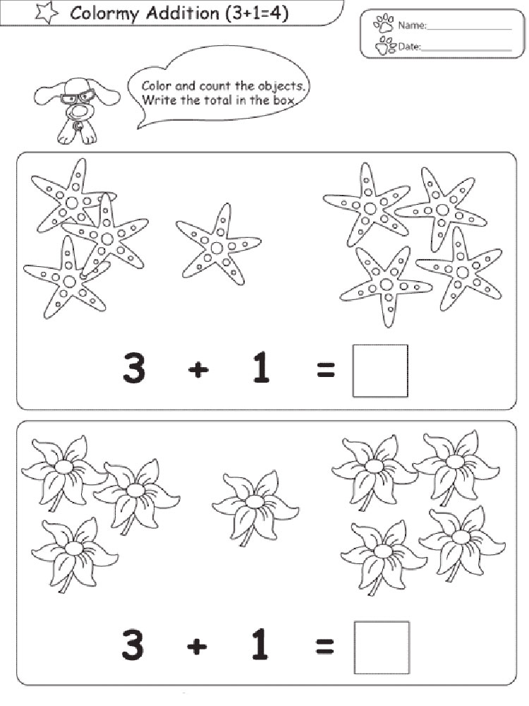 Math coloring pages Download and
