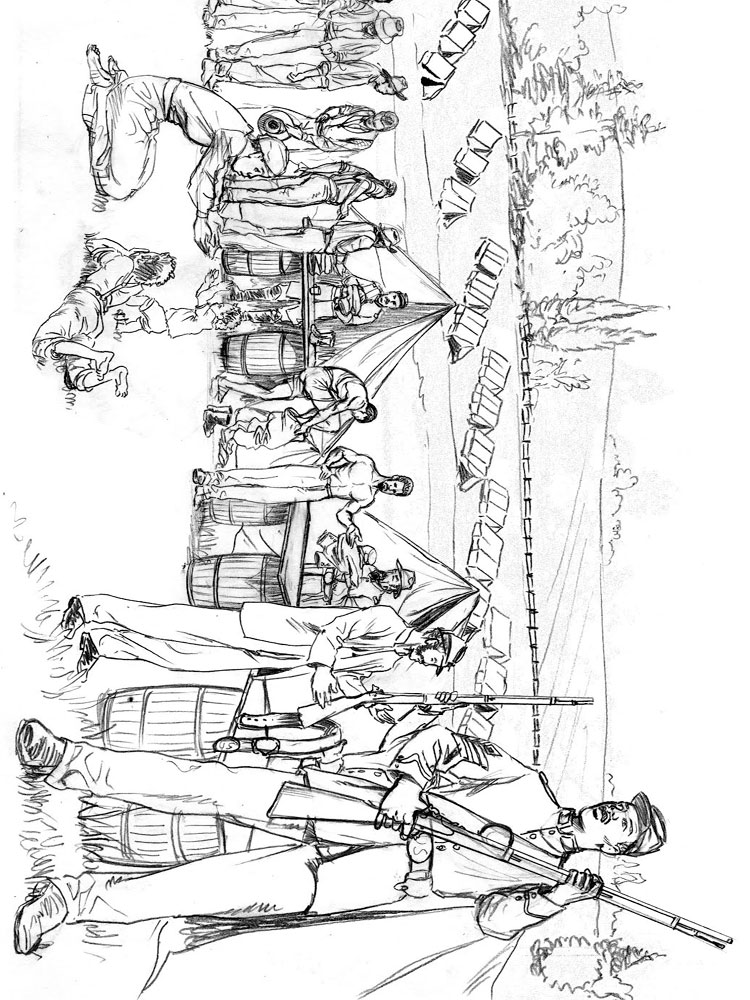 American Revolutionary War Coloring Pages Download And