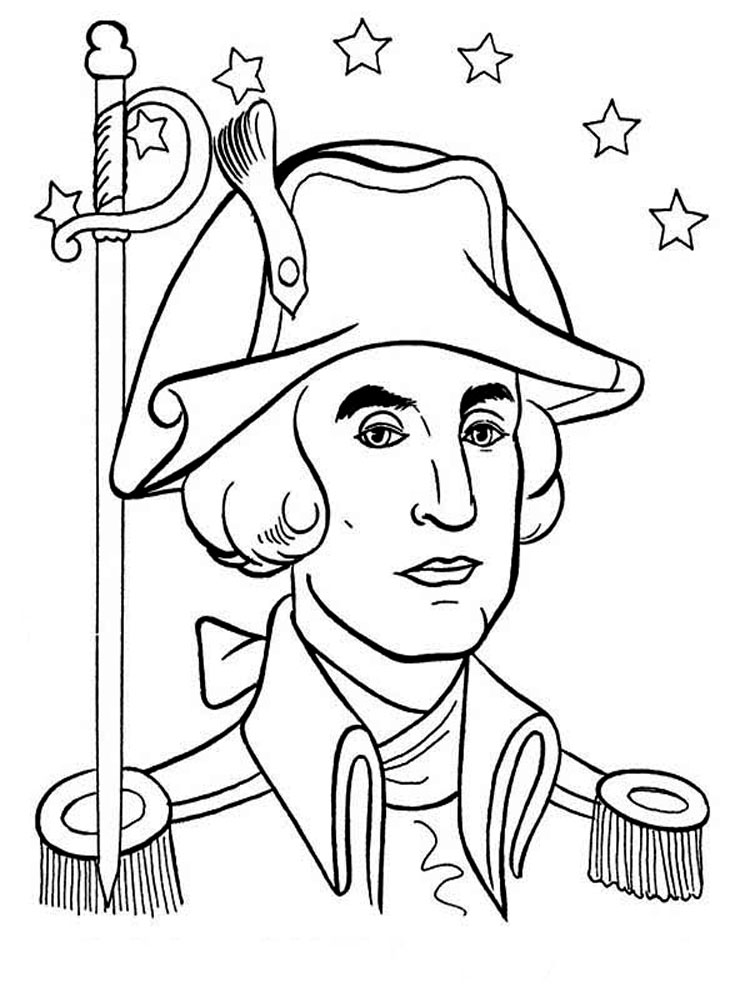 american revolution coloring pages printable - photo#7
