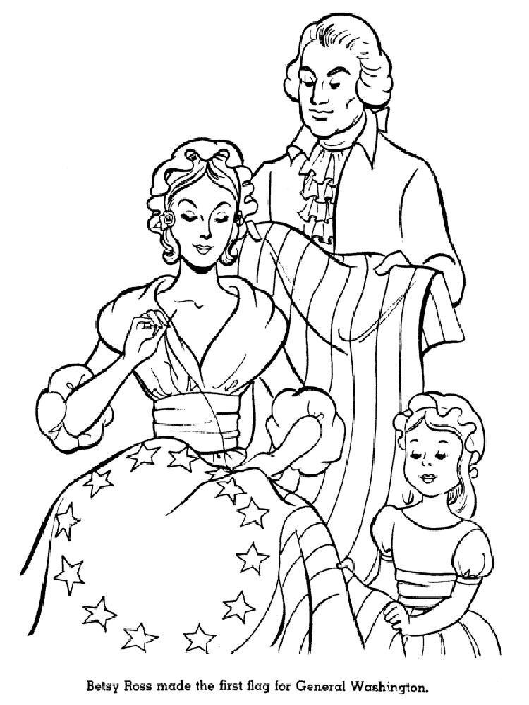 american revolution coloring pages printable - photo#26
