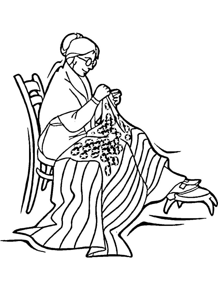 american revolution coloring pages printable - photo#23
