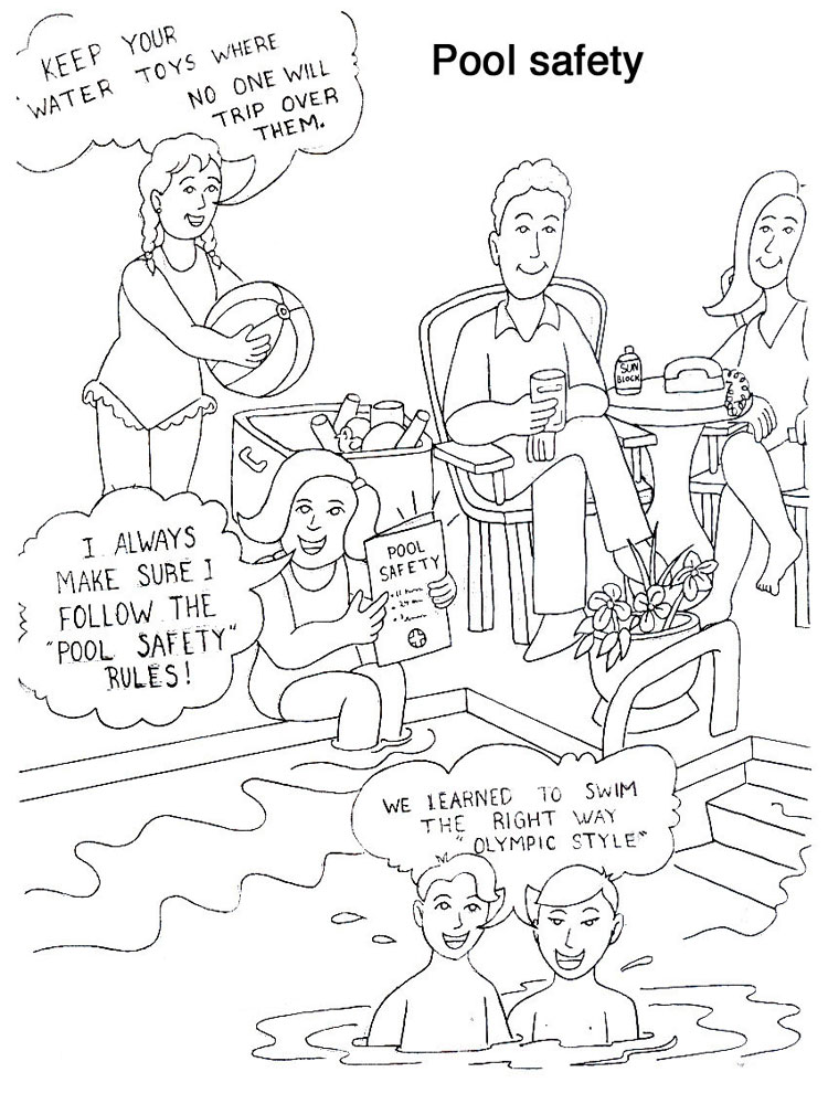 Safety coloring pages Download and print Safety coloring pages