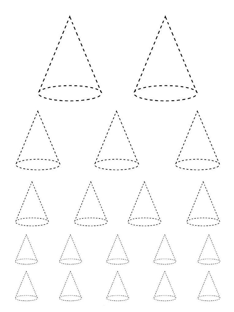 Shapes coloring pages. Download and print Shapes coloring ...