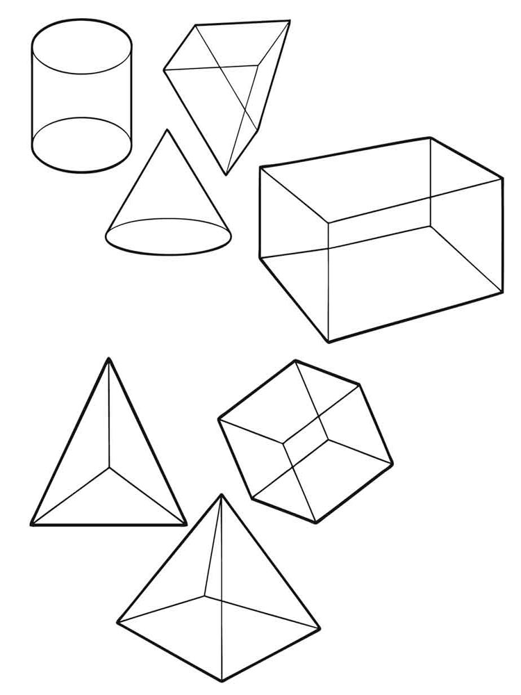 shapes coloring page - shapes coloring pages download and print shapes coloring