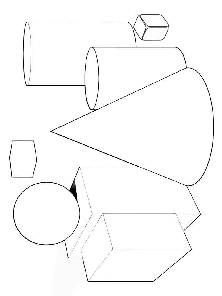 Shapes coloring pages download and print shapes coloring for Shapes coloring pages