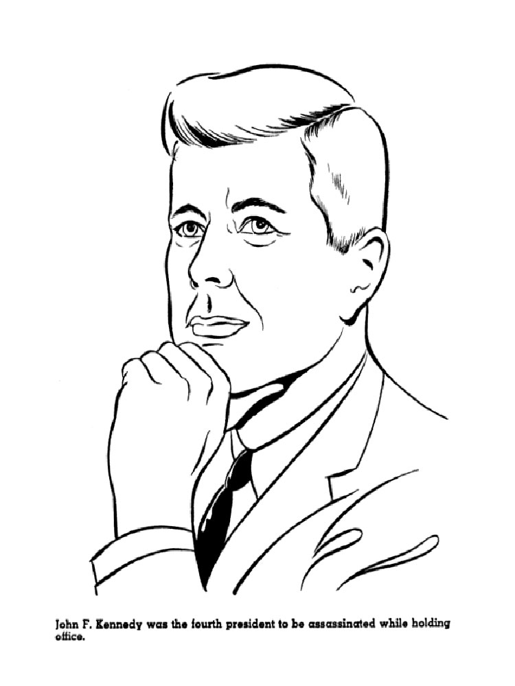 US Presidents coloring pages Download and print US