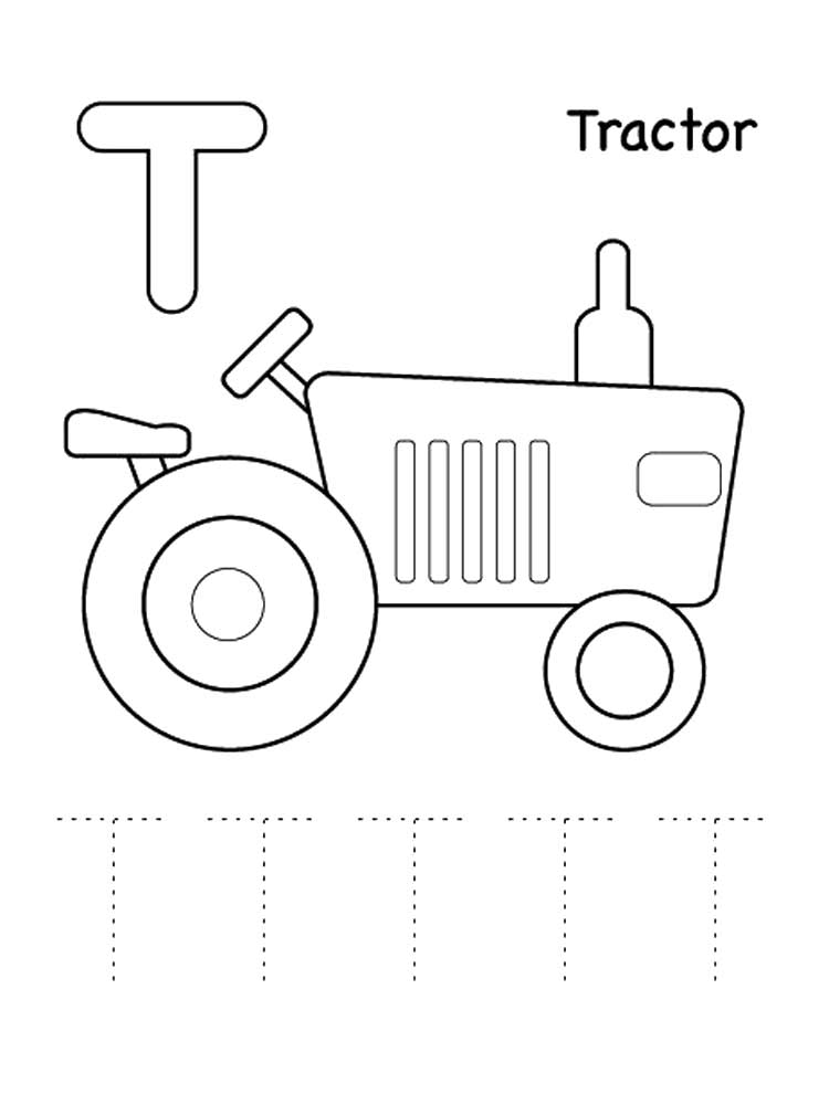 Letter T Coloring Pages Download And Print Letter T Coloring Pages