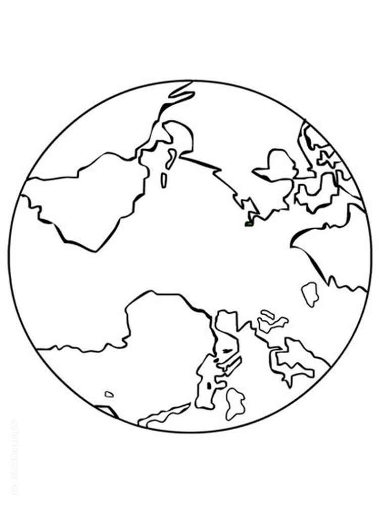 Earth coloring pages. Free Printable Earth coloring pages.