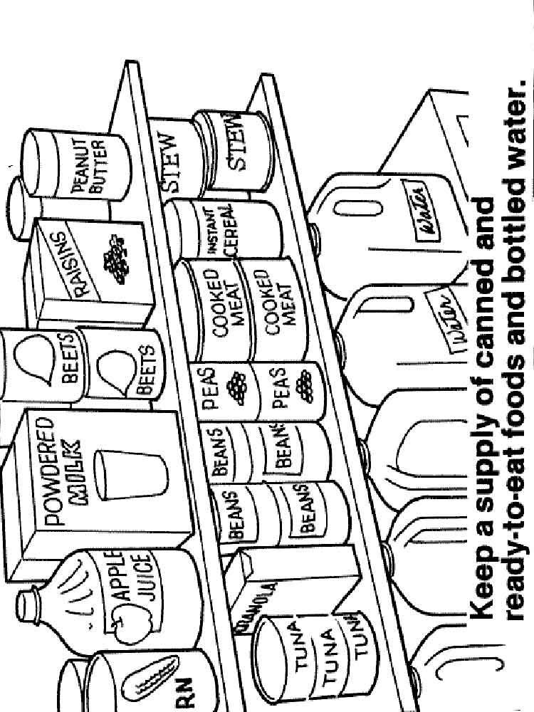 coloring pages health education - photo#19