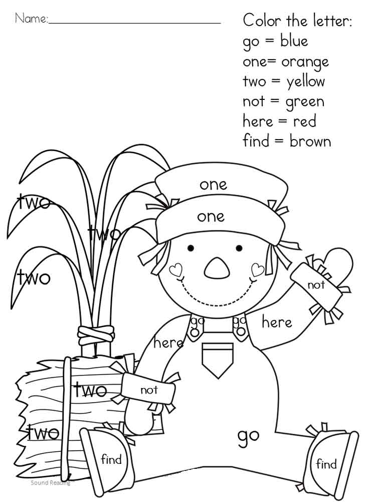 - Hidden Sight Words Coloring Pages. Free Printable Hidden Sight Words  Coloring Pages.