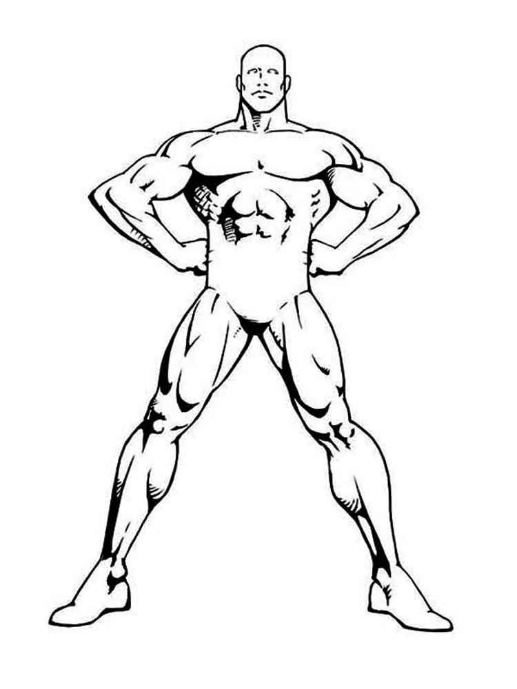 Human Body coloring pages Free
